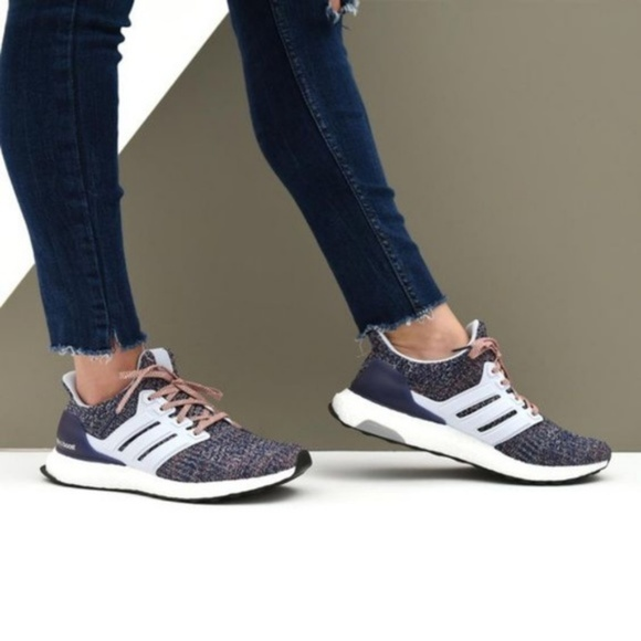 b1ffca1ba NIB Adidas Ultraboost 4.0 Multicolor Blue Sneaker